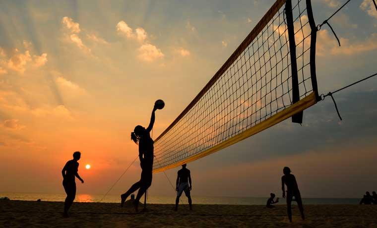 Beneficios de la actividad física en la playa